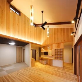 土間のある快適な家1