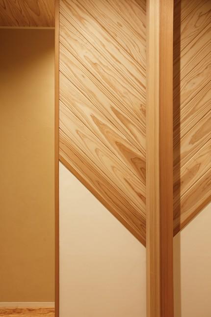 自然素材をふんだんに使った長期優良住宅2