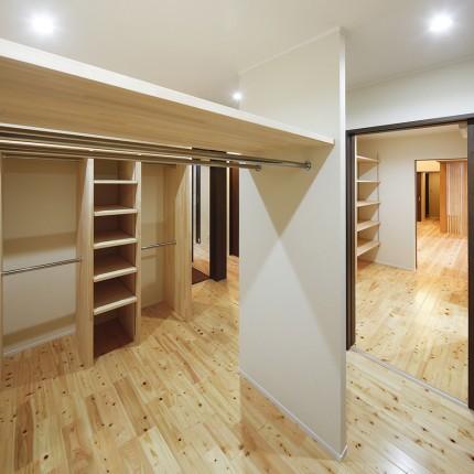 自然素材をふんだんに使った長期優良住宅4