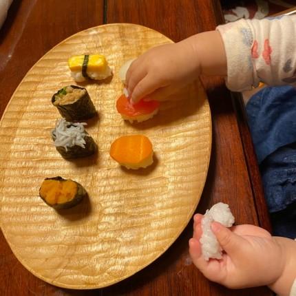 離乳食お寿司